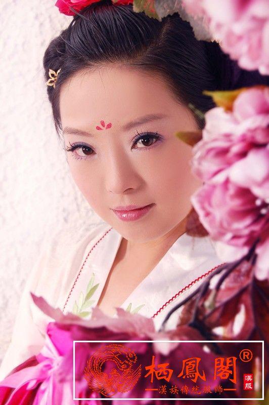 花钿,额头花钿贴,额花钿,花钿贴纸 - 中国汉服网 古装