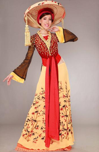 越服之二 越南的传统民族服饰之 四身袄