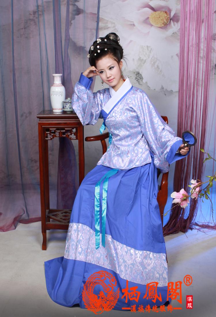 新款汉服发布:袄裙