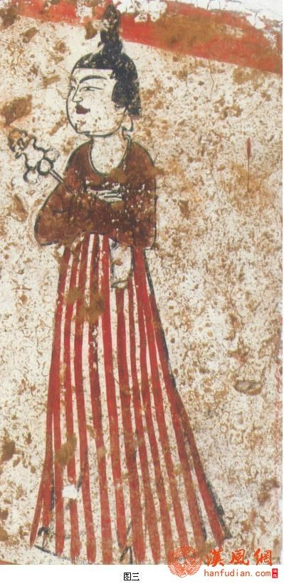 唐代女装:间色裙
