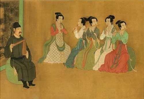 顾闳中 韩熙载夜宴图(局部)