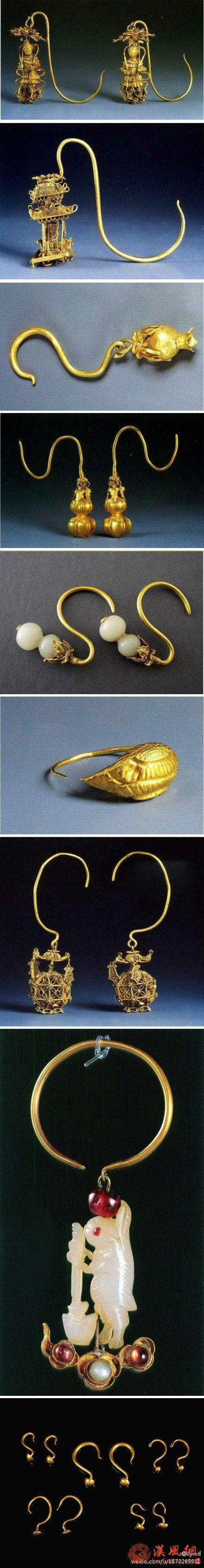 明代饰品:耳环
