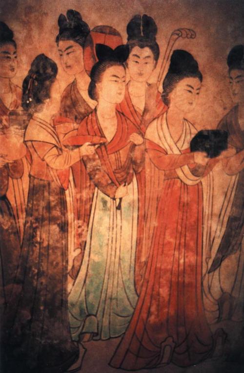 唐代女装腰线演变趋势的深度解析