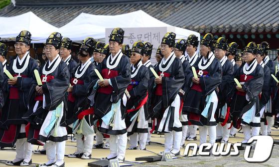 韩国宗庙祭礼