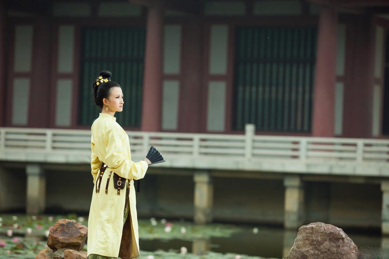 唐代女子女扮男装