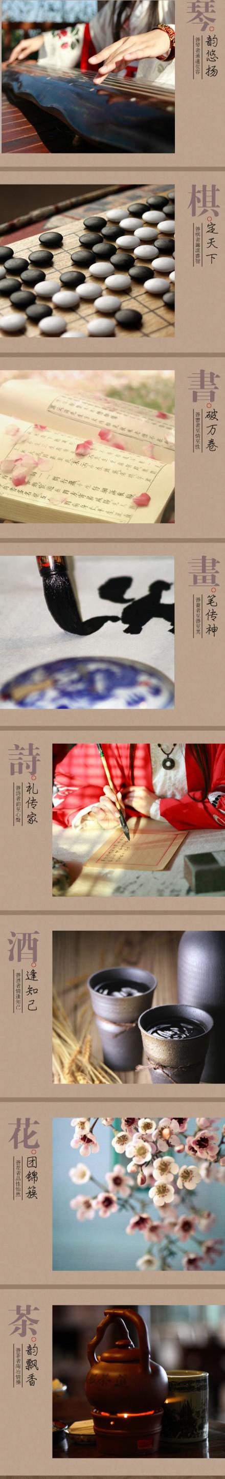 中国传统八大雅事