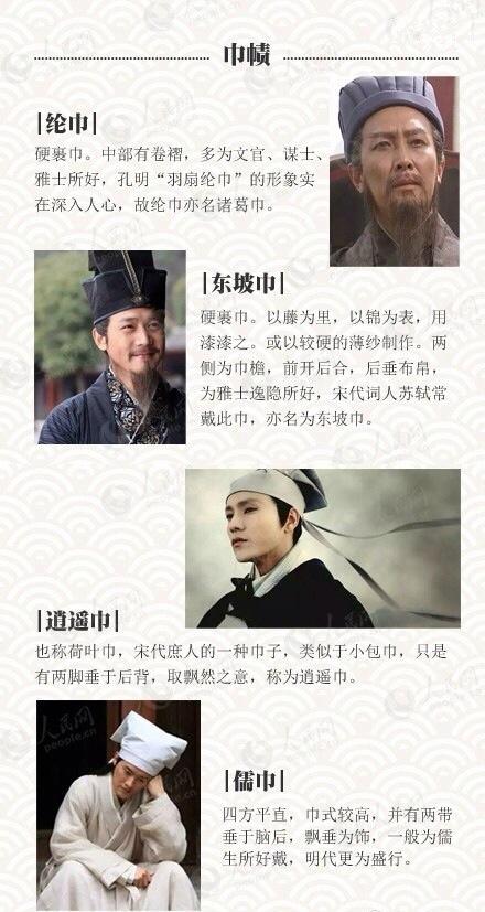 古代帽子 中国首服文化