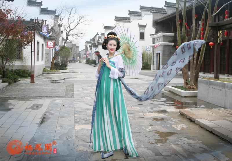 """栖凤阁汉服""""梦回大唐""""秋季新款发布会"""